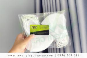 Dịch vụ công bố chất lượng khẩu trang vải tại Hà Nội