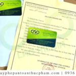 Dịch vụ xin giấy chứng nhận health certificate tinh bột sắn