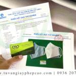 Cơ sở sản xuất khẩu trang vải kháng khuẩn cần có giấy phép gì?