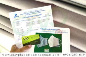 Kiểm nghiệm và công bố khẩu trang vải kháng khuẩn nhanh nhất