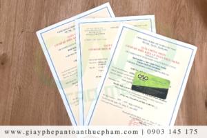 Điều kiện xin giấy phép an toàn thực phẩm cơ sở sản xuất