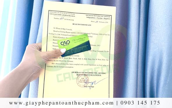 Xin giấy chứng nhận y tế theo Thông tư 52/2015/TT-BYT