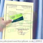 Dịch vụ làm giấy chứng nhận health certificate nhanh nhất