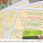 Xin giấy chứng nhận đủ điều kiện ATTP cơ sở chế biến thực phẩm