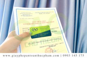 Đăng ký giấy phép an toàn thực phẩm cơ sở sản xuất pate
