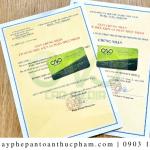 Trình tự đăng ký giấy phép an toàn thực phẩm nhà hàng Trung Hoa