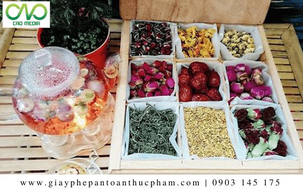 Dịch vụ kiểm nghiệm và công bố chất lượng trà hoa khô hữu cơ