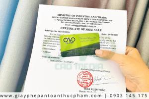 Dịch vụ đăng ký giấy phép lưu hành tự do đồ bảo hộ nhanh chóng