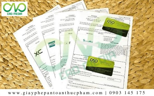 Tờ khai đăng ký bảo hộ độc quyền thương hiệu cà phê rang xay