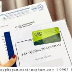Dịch vụ công bố sản phẩm tại quận Tân Phú nhanh chóng