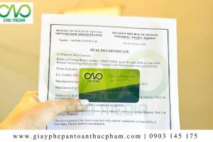 Hướng dẫn đăng ký giấy chứng nhận y tế sản phẩm khô cá dứa