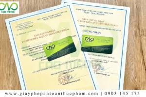 Dịch vụlàmgiấy phép an toàn thực phẩm tại quận Gò Vấp