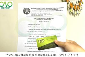 Xin giấy phép lưu hành tự do tại Cục bảo vệ thực vật