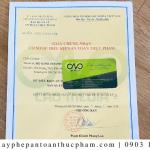 Xin giấy phép ATTP tại cơ sở sản xuất bánh su kem