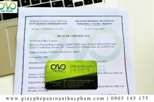 4 bước đăng ký Health Certificate qua mạng điện tử tại Bộ Y Tế
