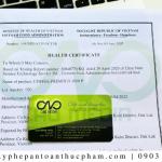 Các bước xin Health Certificate xuất khẩu sản phẩm