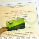 Thủ tục xin giấy phép ATTP tại cơ sở sản xuất giấm táo