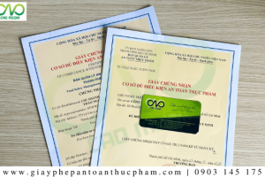 Đối tượng không phải xin cấp giấy chứng nhận cơ sở đủ điều kiện ATTP