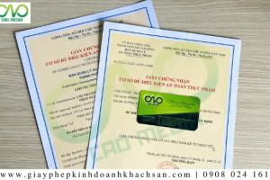 Thủ tục xin giấy phép an toàn thực phẩm cơ sở sản xuất chả quế