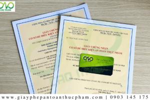 Xin giấy phép ATTP cơ sở sản xuất mực tẩm gia vịnhư thế nào?