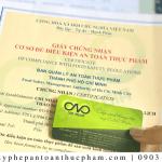 Dịch vụ làm giấy phép ATTP cơ sở sản xuất gạo sạch[TRỌN GÓI]