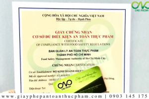 Xin giấy phép ATTP cho quán rượu Quận 2 – TP. Hồ Chí Minh