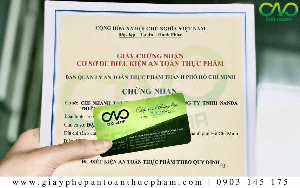 Hồ sơ xingiấy phép ATTP cho quán rượu Quận 3 - TP. Hồ Chí Minh