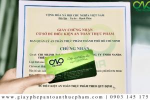 Hướng dẫn xin giấy phép ATTP cho quán rượu quận Tân Phú