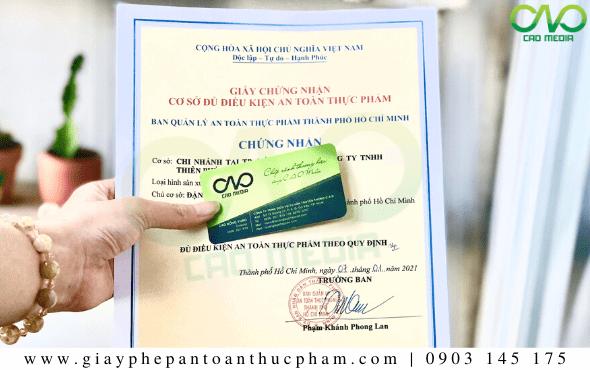 Dịch vụ làm giấy phép ATTP cơ sở sản xuất mứt dừa Tết 2021