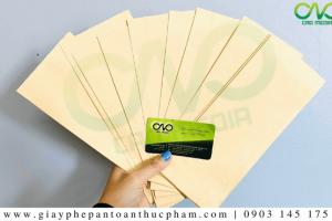 Công bố chất lượng giấy gói thực phẩm NHANH CHÓNG – TRỌN GÓI
