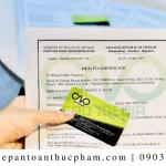 Để xin health certificate cho bột gia vị dễ dàng nhất cần chuẩn bị giấy tờ gì