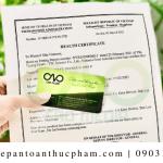 Dịch vụ xin health certificate bột nếp đơn giản