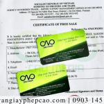 Certificate of free sale cho bánh trung thu hạt sen cơ quan nào cấp?