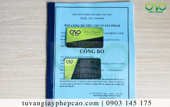 Dịch vụcông bố chất lượng khẩu trang N95