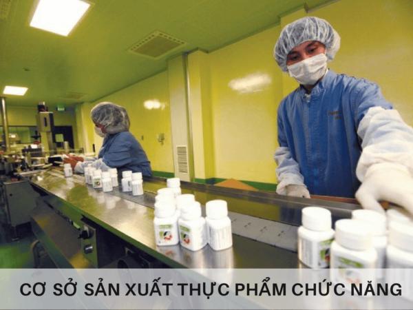 Giấy phép vệ sinh an toàn thực phẩm cho cơ sở sản xuất thực phẩm chức năng