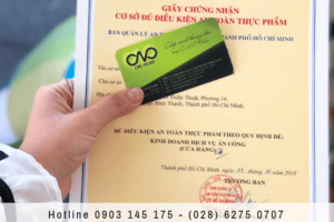 Dịch vụ xin giấy chứng nhận vệ sinh an toàn thực phẩm nhanh chóng