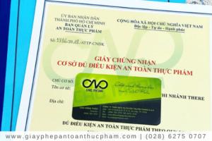 Xin giấy phép ATTP cho cơ sở sản xuất nước chấm