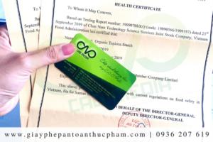Trường hợp thu hồi chứng nhận health certificate là gì