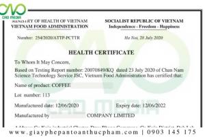Thủ tục xingiấy chứng nhận y tế tại Lâm Đồng đầy đủ