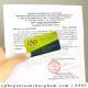 Dịch vụ làm giấy chứng nhận CFS gạo nếp than– TRỌN GÓI