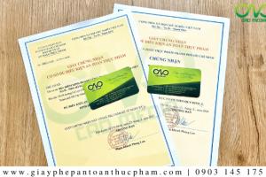 Xin giấy phép an toàn thực phẩm cho quán rượu 2021
