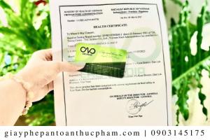 Sản phẩm bột báng được cấp giấy chứng nhận y tế như thế nào