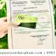 Tư vấn xin health certificate cho bột lá cẩm