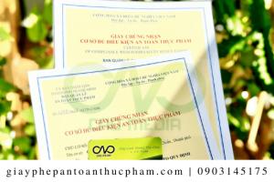 Xin giấy an toàn thực phẩm cho bột lá dứa với quy trình đầy đủ nhất
