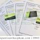 Quy trình xin health certificate bột lá dứa trọn gói