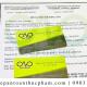 Giấy health certificate để xuất khẩu bột khoai tây mới nhất