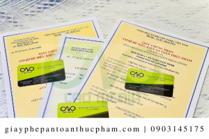 Làm giấy phép an toàn thực phẩm cho bột hạnh nhân trọn gói tại C.A.O Media